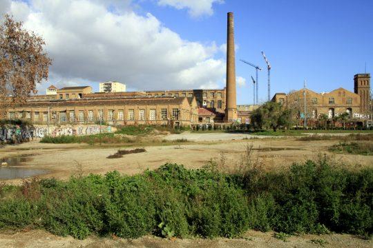 Una parte della fabbrica di Can Batllò