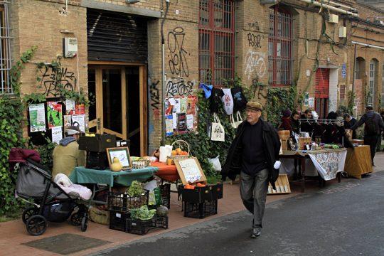 Il mercatino del sabato a Can Batllò